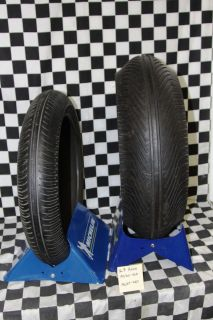 Superbike Motorcycle Tire Rain Race Slicks Set 16 5 420 New