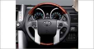 Land Cruiser Prado 150 Wood Style Steering Wheel JDM Toyota Japan