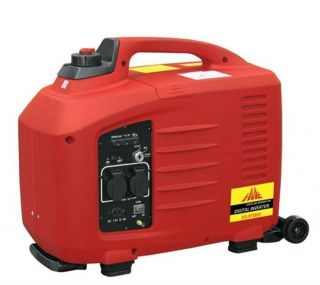 WATT Portable Gas Generator with slide handle, wheels & electric start