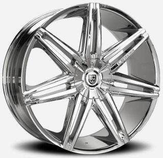 Lexani Johnson II Chrome Wheel Rim 5x150 Lexus LX470 Sequoia