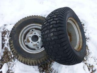 Wheel Horse 416 8 Tractor Carlisle 23x9 50 12 Rear Tires Rims