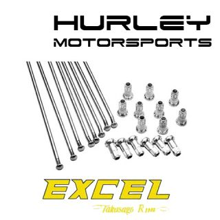 Excel Rims Spoke Kit Yamaha 18 Rear Wheel YZ250F YZ450F 09 12 XS8