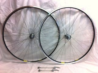 Bicycle Bike Cycling Shimano Dura Ace 7800 Wheels Black Silver