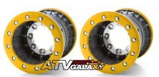 Hiper Tech 3 Rear Wheels Rims Suzuki LTR450 Ltr 450 8