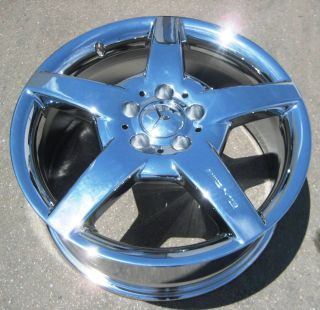 Mercedes CLK500 CLK55 CLK63 CLK550 AMG Chrome Wheel Rim 1 Front
