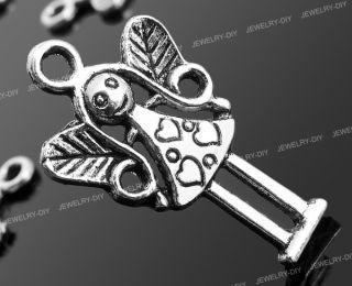 20X Tibet Silber Engel Anhänger Kettenanhänger Basteln TREND