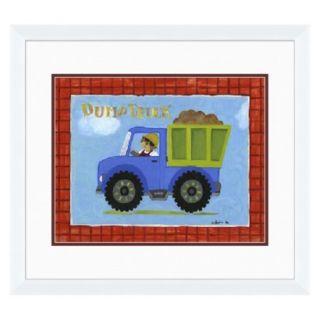 Dump Truck Wall Art