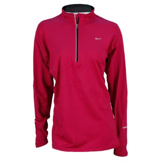 Nike Women`s Extended Element Half Zip Running Top 2X 513_Bright_Magenta