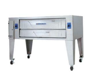 Bakers Pride Pizza Deck Oven, Single, 36 x 60 in Deck, Heavy Duty, LP
