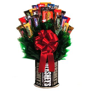 Hersheys And More Chocolate/candy Bouquet
