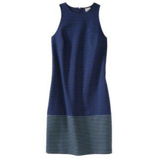 Merona Petites Sleeveless Ponte Dress   Navy Blue 10P