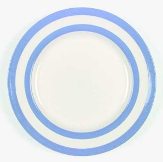 TG Green (England) Cornish Blue Cream (Cloverleaf&Tg Green) Dinner Plate, Fine C
