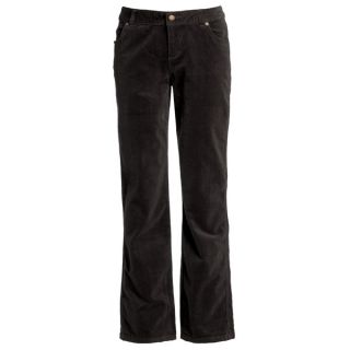 Woolrich Holly Hills Jeans   Stretch Cotton Corduroy (For Women)   BLACK (10 )