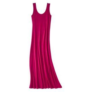 Merona Petites Sleeveless Maxi Dress   Red XSP