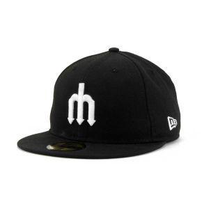 Seattle Mariners New Era MLB B Dub 59FIFTY Cap