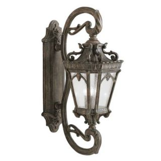 Kichler 9359LD Outdoor Light, European Wall Mount 4 Light Fixture Londonderry