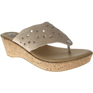 Spring Step Womens Foamy Beige Sandals   Foamy C