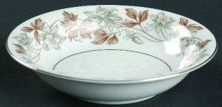 Noritake Allison Fruit/Dessert (Sauce) Bowl, Fine China Dinnerware   Gray/Brown