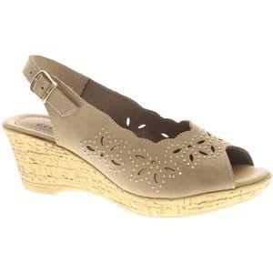 Spring Step Womens Keystone Beige Sandals   Keystone CN