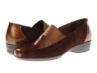Helle Comfort Sarafina Womens Slip on Shoes (Brown)
