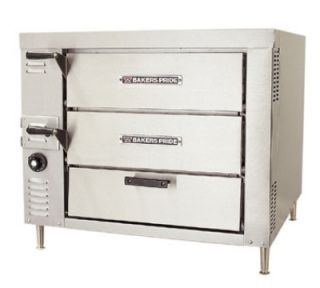 Bakers Pride Pizza/Bake Countertop Oven, Double Compartment, Double Deck, NG