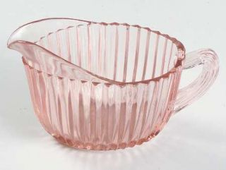 Anchor Hocking Queen Mary Pink Creamer   Pink, Depression Glass