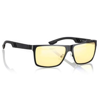 Gunnar Vinyl Onyx Gunmetal Amber Full Rim Ergonomic Advanced Computer Glasses