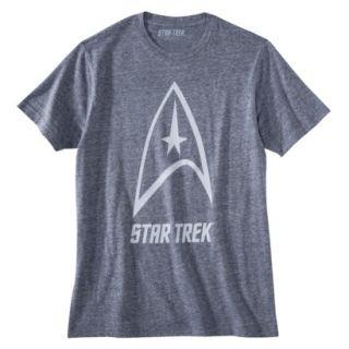 Star Trek Delta Shield Mens Graphic Tee   Blue M