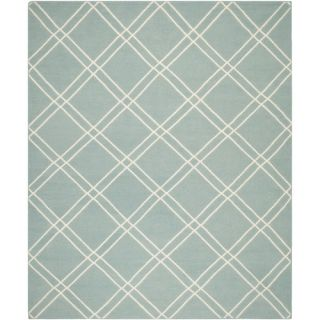 Safavieh Dhurries Light Blue/Ivory Rug DHU638C Rug Size: 5 x 8