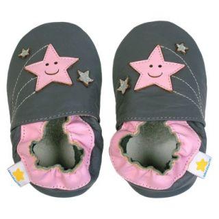 Ministar Infant Girls Shooting Star Shoe   Grey L