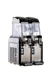 Elmeco Cold Beverage Dispenser w/ 6.4 gal Capacity & Electronic Controls, Black