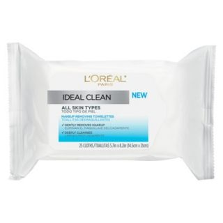 LOreal Paris Ideal Clean Towelettes for All Skin Types   25 Count