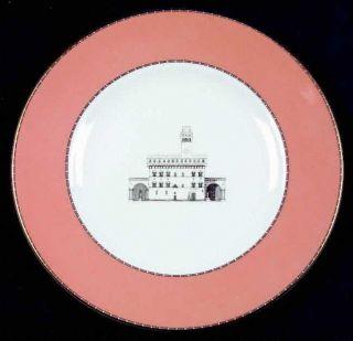 Wedgwood Grand Tour Salad Plate, Fine China Dinnerware   European Scenes, Differ