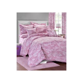 Browning Buckmark Camo 3 Piece Comforter Set 071 Color: Pink, Size: Full