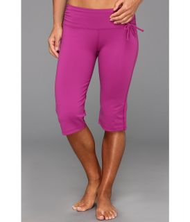 Prana Mackenzie Knicker Womens Shorts (Burgundy)