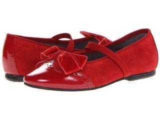 Jumping Jacks Kids Balleto   Jamie Girls Shoes (Red)