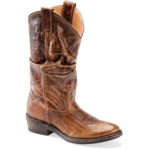 Double H Boot Womens 12 Inch Vintage Slouch Vintage Tan Boots   DH3275