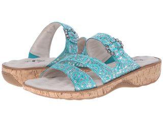 SoftWalk Bal Harbour Womens Shoes (Green)