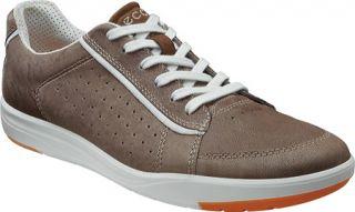 Mens ECCO Eldon Casual Sneaker   Moon Rock Nomad/Spice Textile Sneakers