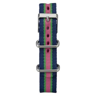 Womens Timex Midsize Weekender Replacement Strap   Multicolor
