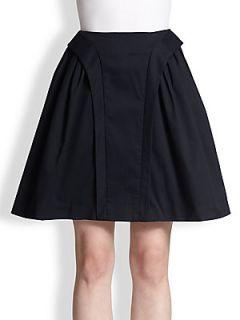 McQ Alexander McQueen Raised Panel Trimmed Skirt   Sapphire