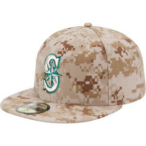 Seattle Mariners New Era MLB 2013 Memorial Day Stars & Stripes 59FIFTY Cap