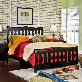 American Woodcrafters Weekends Panel Bed Multicolor   AWR897