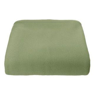 Super Soft Fleece Blanket   Basil (Twin)