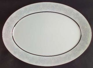 Oxford (Div of Lenox) Twilight Dell 16 Oval Serving Platter, Fine China Dinnerw
