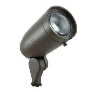 Focus Lighting DL20MR16BRT 120V 75W Adjustable Bullet Directional Light w/Extension Cap Bronze Texture