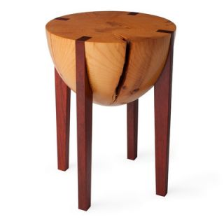 Miles & May RD Stool 32.05 Finish: Body: White Pine / Legs: Padauck