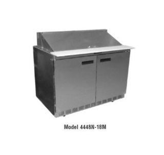 Delfield 48 in Salad Top Refrigerator, 18 Pan, Mega Top