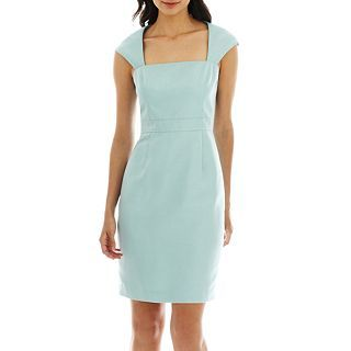 Simply Liliana Cap Sleeve Sheath Dress, Spearmint