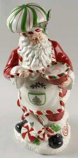 ... Spode Christmas Tree Green Trim Figurine Cookie Jar U0026 Lid, Fine China  Dinnerware ...